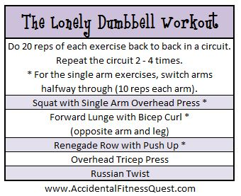 Dust Off That Dumbbell And Bust A Move