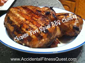 Chinese Five Spice Barbecue Chicken