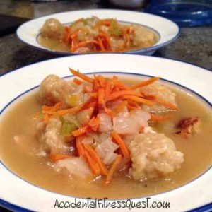 Healthy Chicken and Dumplings