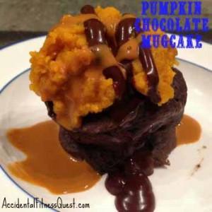 Pumpkin Chocolate Mugcake