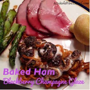 Blackberry Champagne Glaze