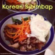 Healthy Homemade Korean Bibimbap