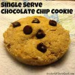 Single Serve Chocolate Chip Cookie