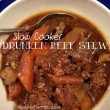 Slow Cooker Drunken Beef Stew