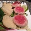 Ahi Tuna Sliders