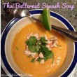 Thai Butternut Squash Soup with Grilled Chicken