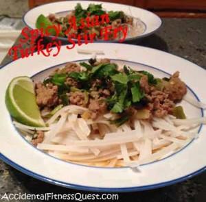 Spicy Asian Turkey Stir Fry