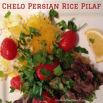 Chelo Persian Rice Pilaf
