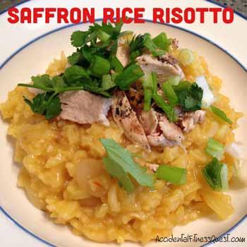Saffron Rice Risotto