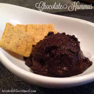 Vegan Chocolate Hummus