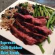 Espresso Chili Rubbed Skirt Steak