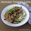 Ground Turkey Larb Salad
