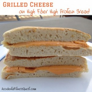 Grilled Cheese on High Protein Bread