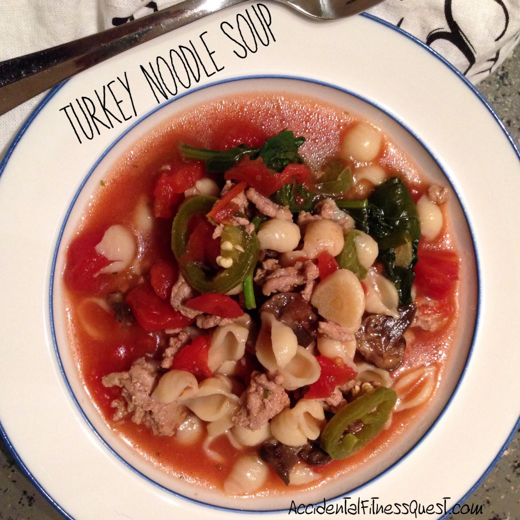 Warming Turkey Noodle Soup