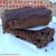 Dark Chocolate Guinness Protein Brownies