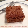 Lower Calorie Vegan Cinnamon Crumble Coffee Cake