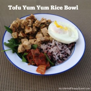 Tofu Yum Yum Rice Bowl