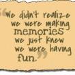 Fun Memories