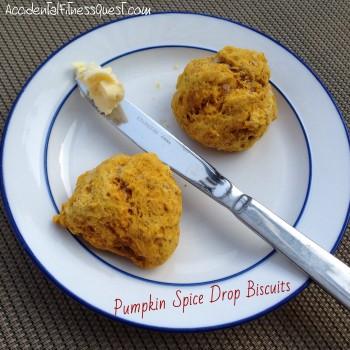 Pumpkin Spice Drop Biscuits