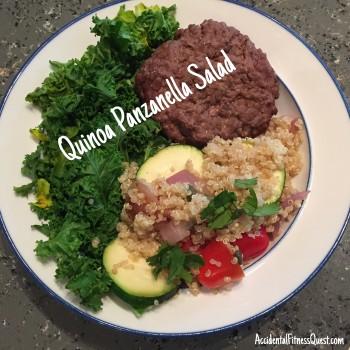 Quinoa Panzanella Salad