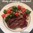 Barley, Strawberry, and Kale Salad