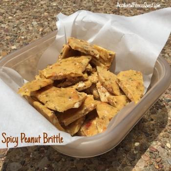 Spicy Peanut Brittle