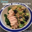 Blueberry Quinoa Bowl with Grilled Chicken