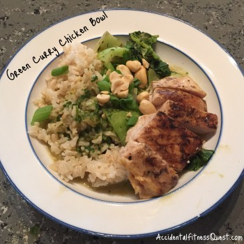 Green Curry Chicken Bowl