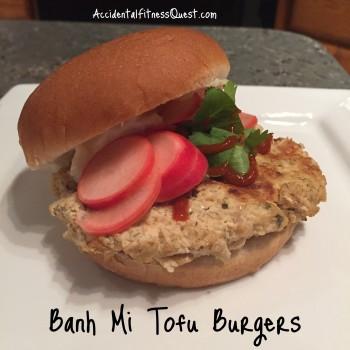 Banh Mi Tofu Burgers