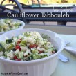 Low Calorie Cauliflower Tabbouleh