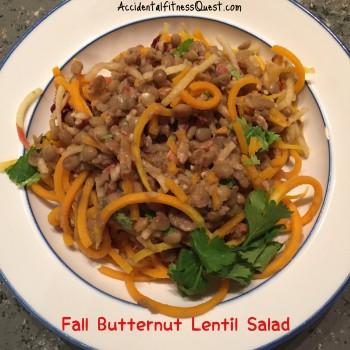Fall Butternut Lentil Salad