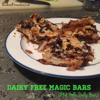 Dairy Free Magic Bars