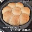 Homemade Dairy Free Yeast Rolls