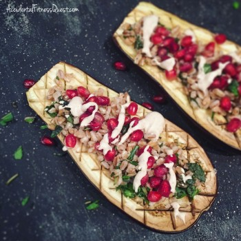 Eggplant with Pomegranate