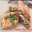 Grilled Veggie Burritos with Cilantro Lime Rice
