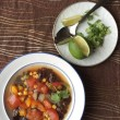 Tex Mex Soup (with Vegan Options)