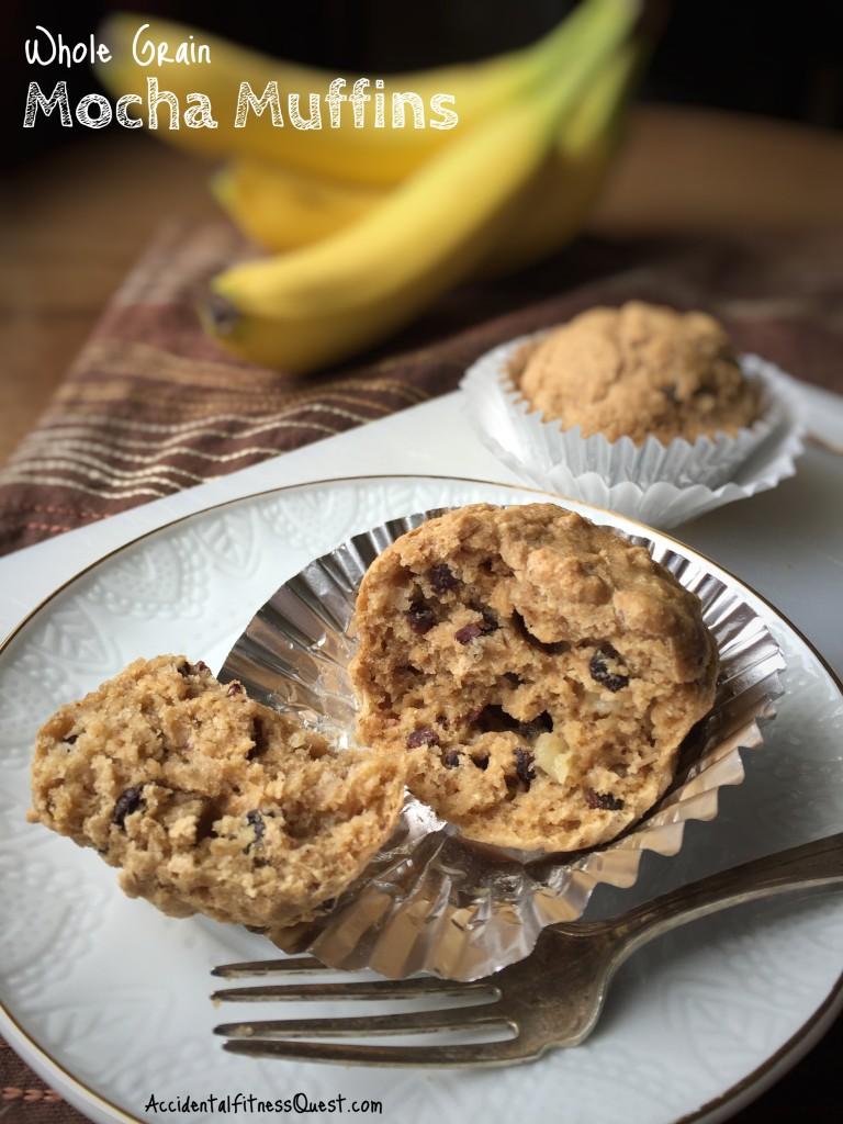 Whole Grain Mocha Muffins