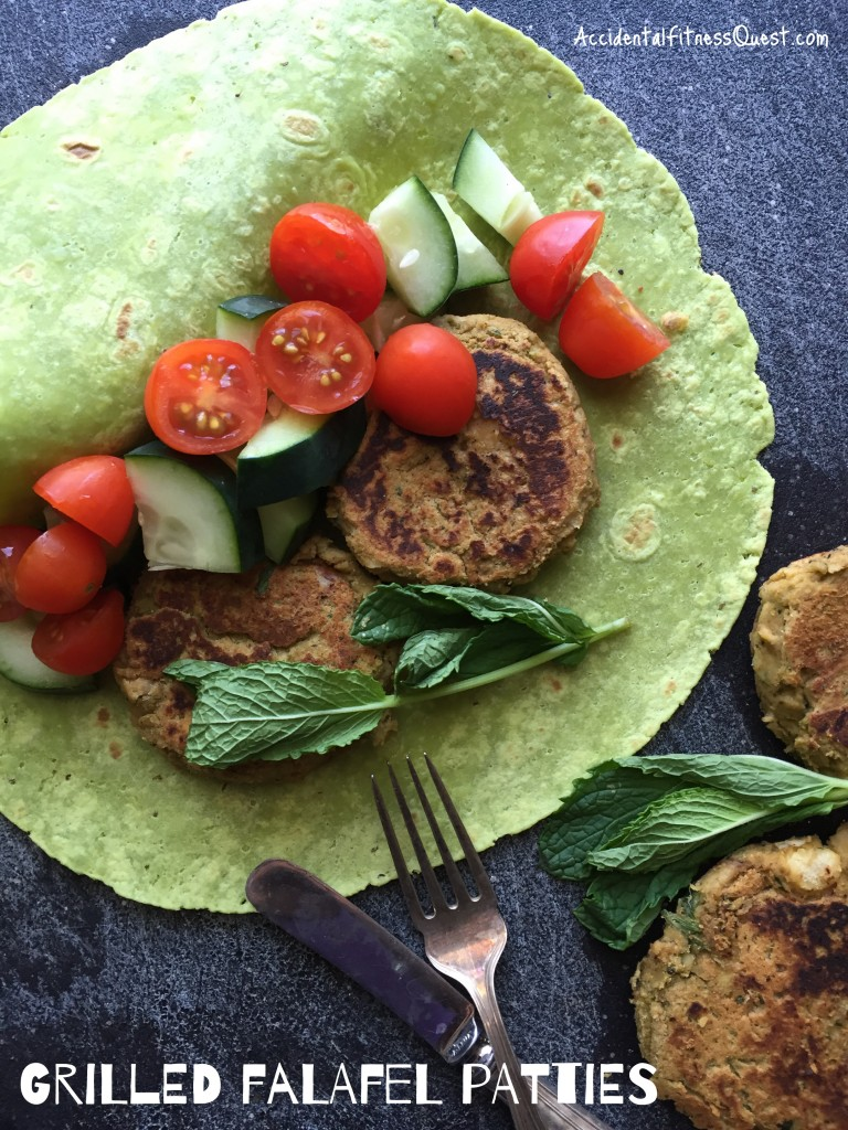 Grilled Falafel Patties