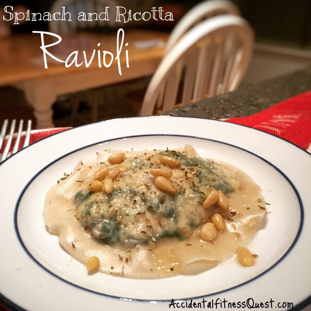 Vegan Spinach Ricotta Ravioli